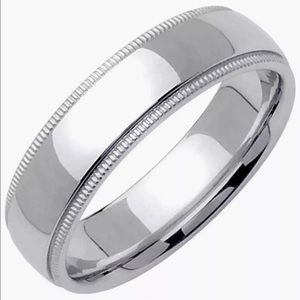 Jewelry - New 925 Silver high polished plain Ring Band